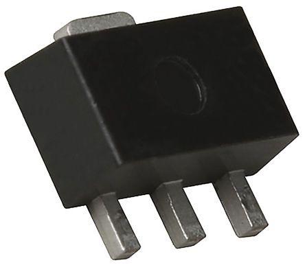 ROHM 2SCR513P5T100 NPN Transistor, 1 A, 50 V, 3+Tab-Pin SOT-89 (50)