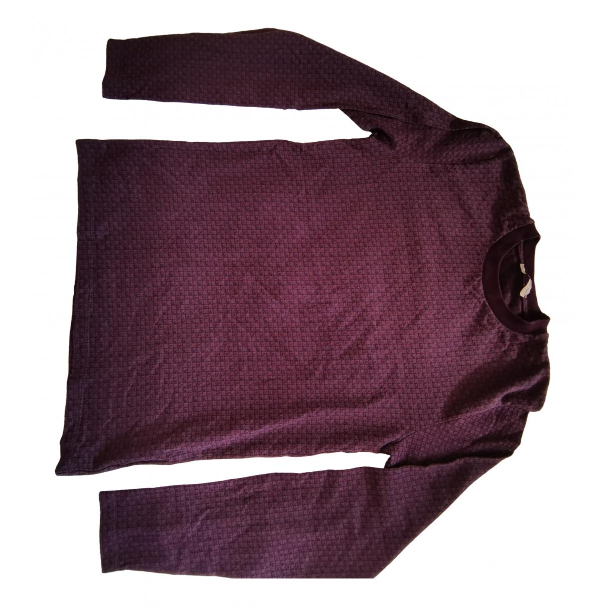Etro N Burgundy Cotton Knitwear & Sweatshirts for Men XS International