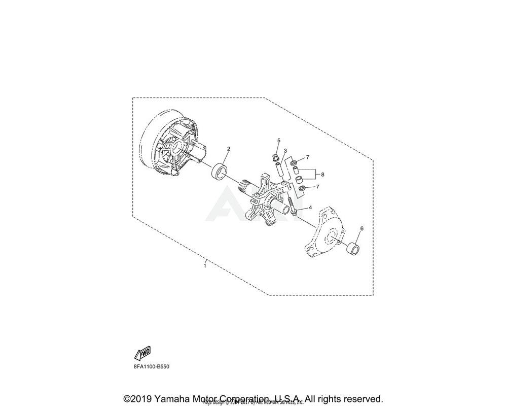 Yamaha OEM 8ET-W176H-00-00 CLUTCH TUNE-UP KIT | AP