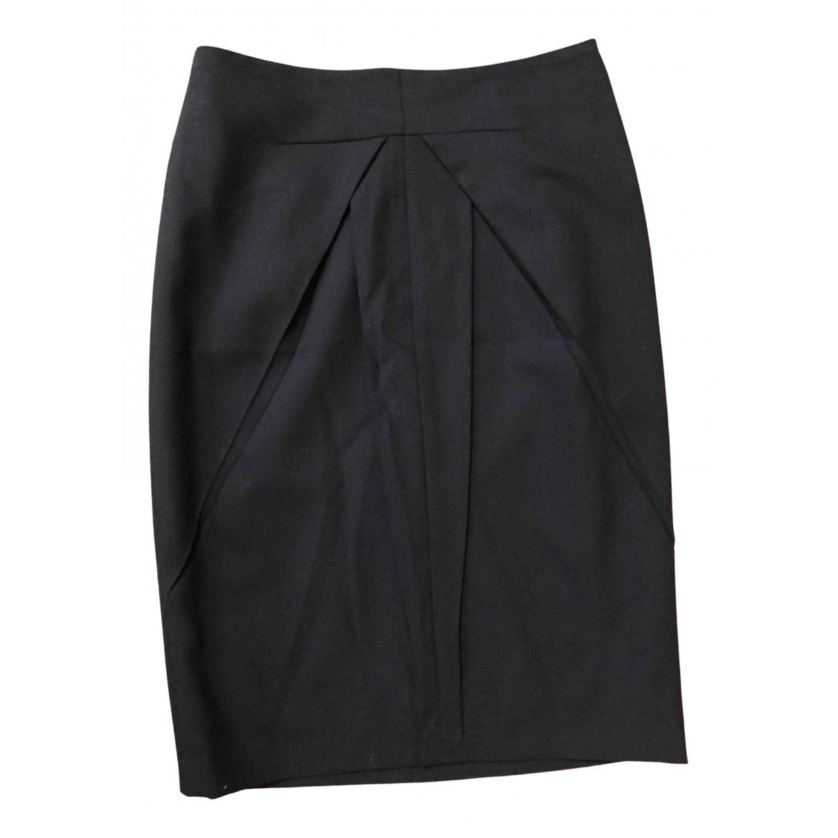 Viktor & Rolf - Jupe   pour femme en laine - noir