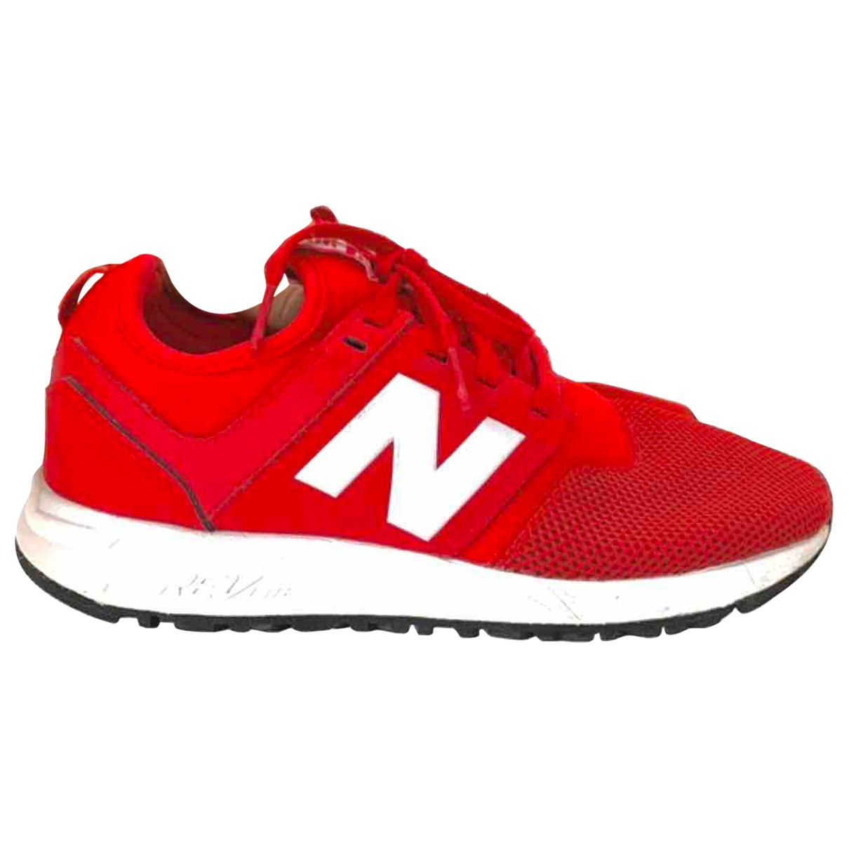 New Balance \N Sneakers in  Rot Leinen