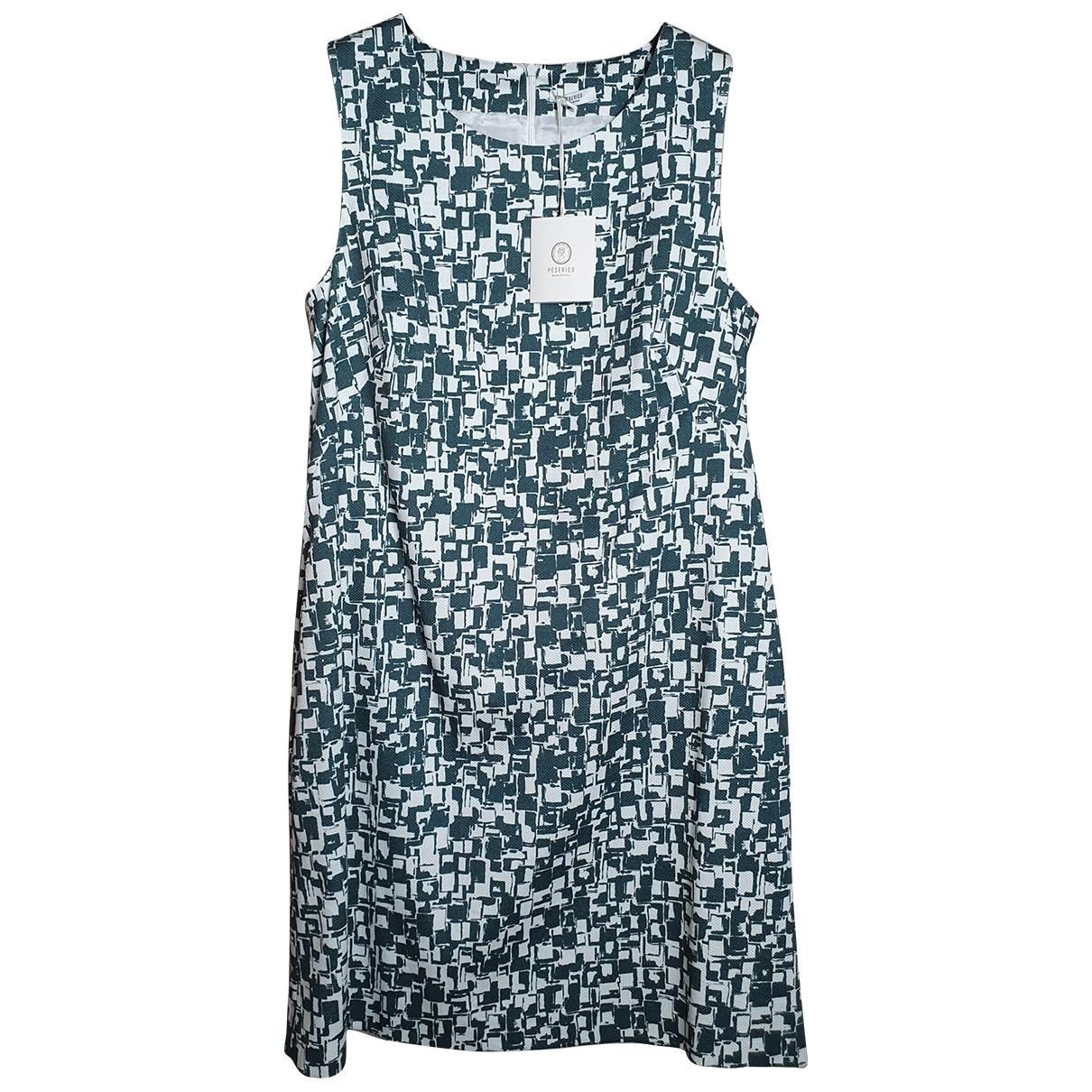 Peserico - Robe   pour femme en coton - vert