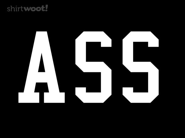 Ass T Shirt