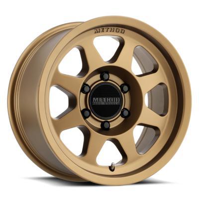 Method Race Wheels 701 Trail Series, 18x9 with 5x150 Bolt Pattern - Method Bronze - MR70189058925