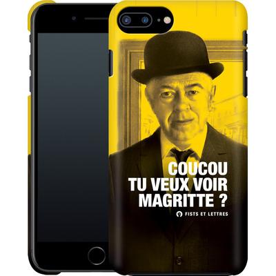 Apple iPhone 8 Plus Smartphone Huelle - Tu Veux Voir Magritte von Fists Et Lettres