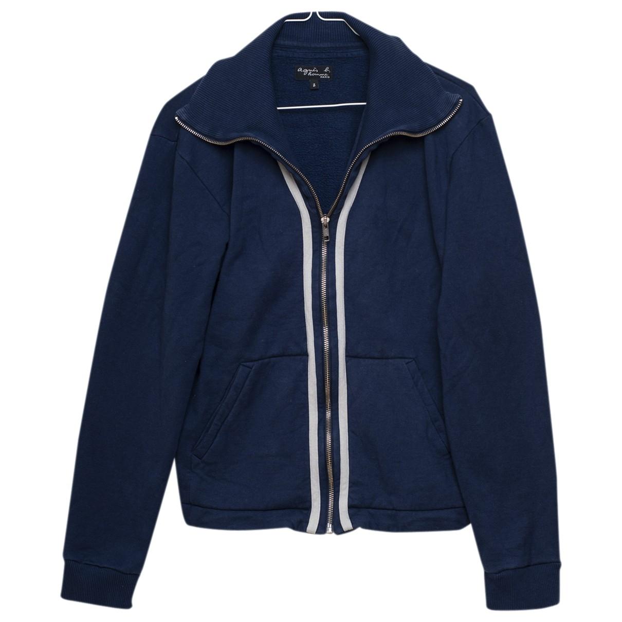 Agnes B. \N Pullover.Westen.Sweatshirts  in  Blau Baumwolle