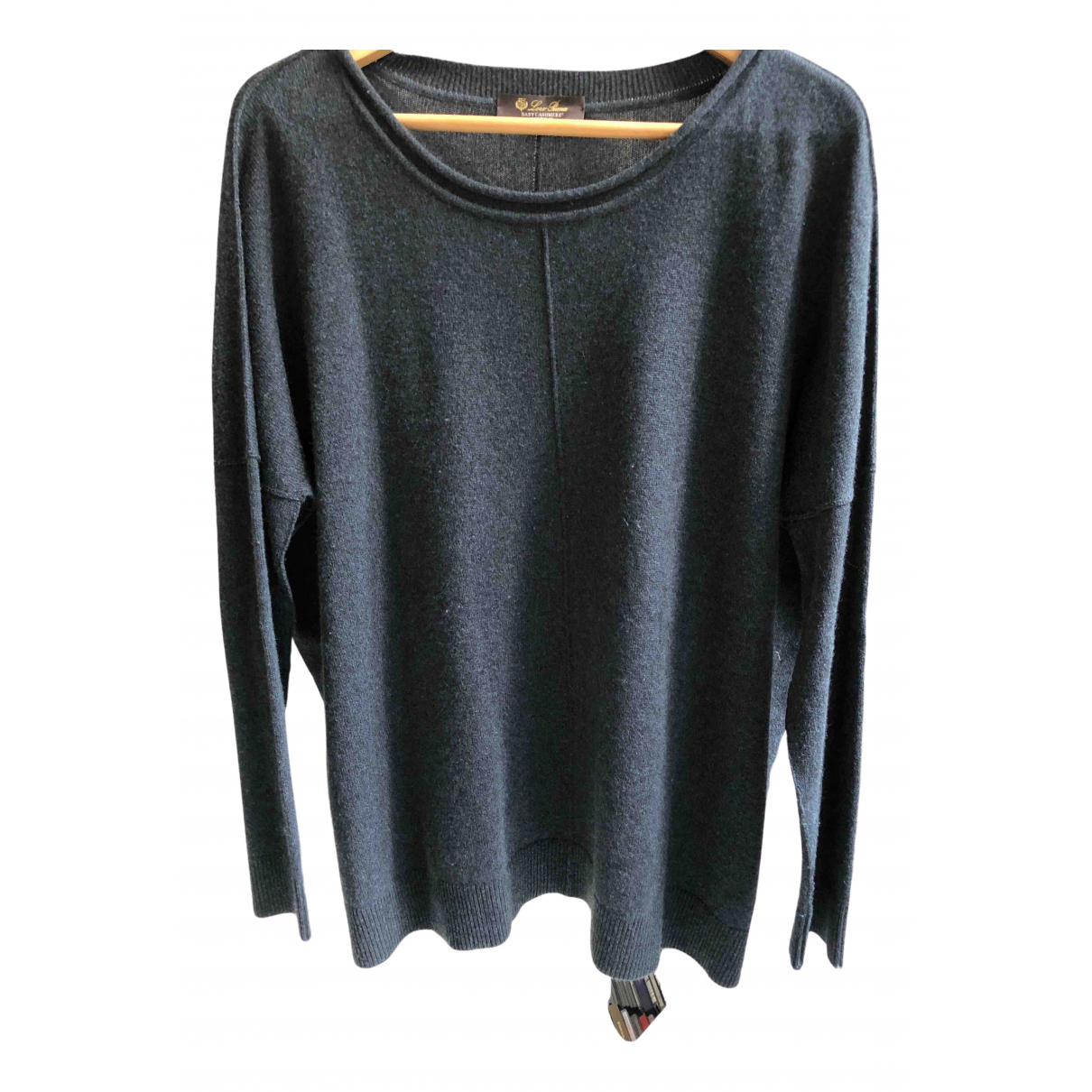 Loro Piana \N Anthracite Cashmere Knitwear for Women M International