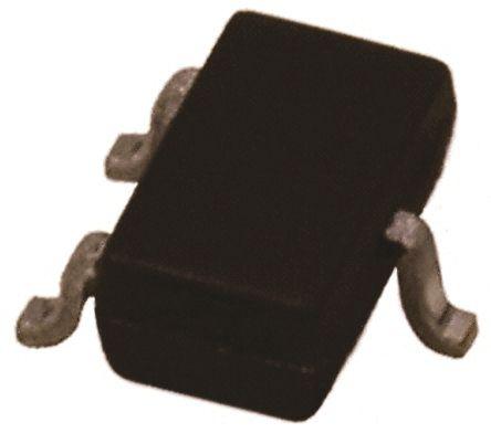 DiodesZetex Diodes Inc 30V 200mA, Dual Schottky Diode, 3-Pin SOT-523 BAT54ST-7-F (50)