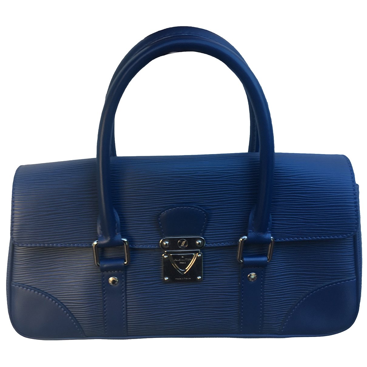 Louis Vuitton - Sac a main Segur pour femme en cuir - bleu