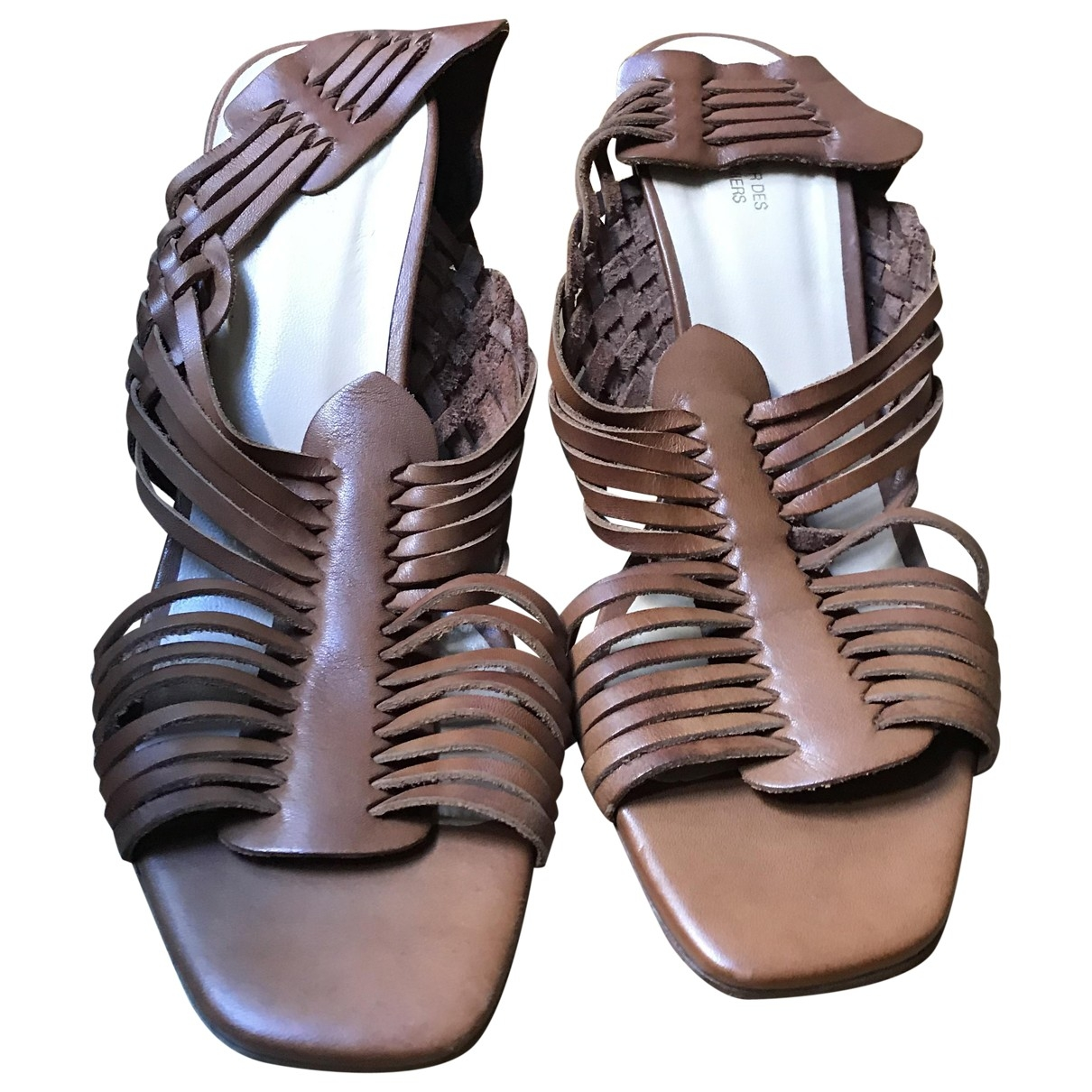 Sandalias de Cuero Comptoir Des Cotonniers