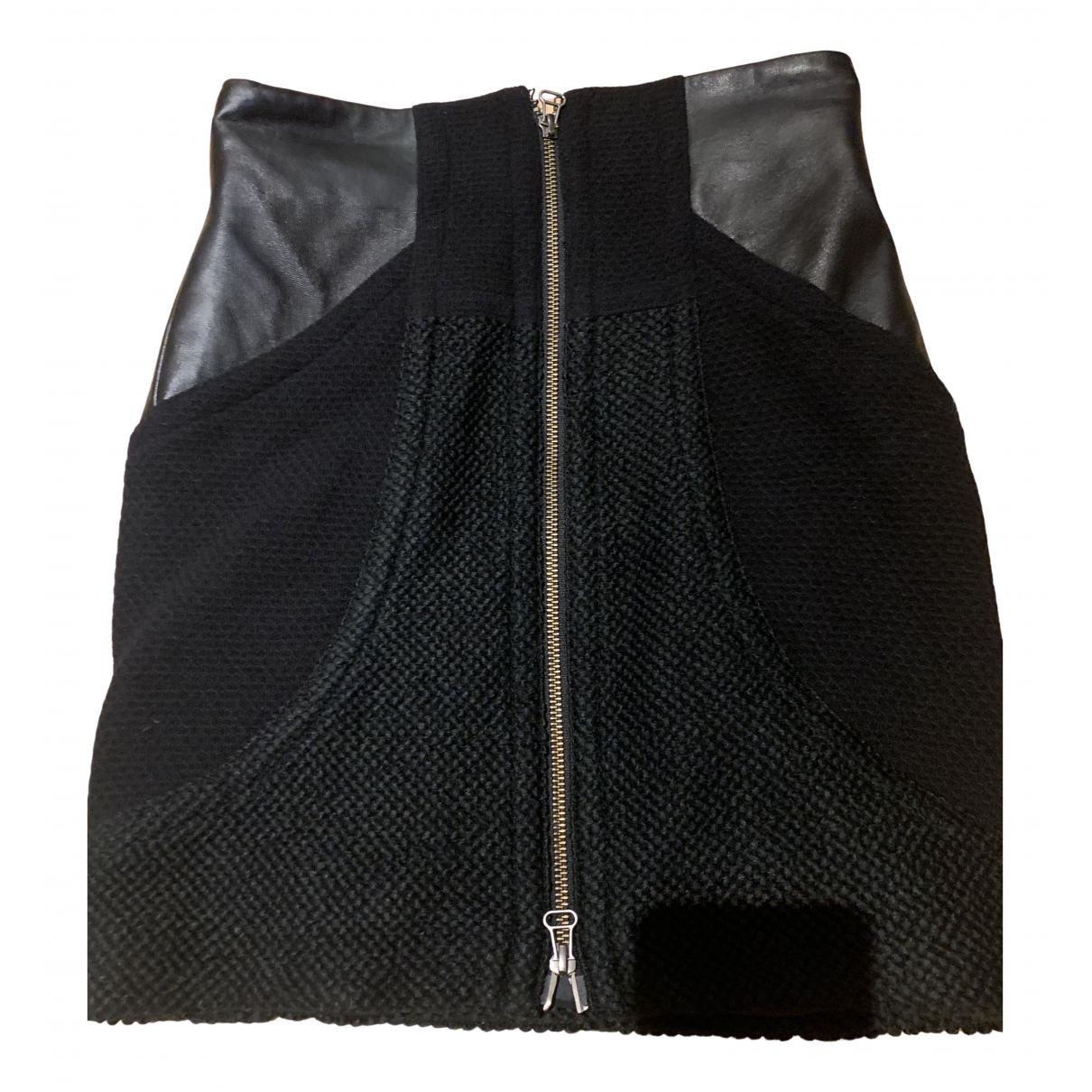 Edun - Jupe   pour femme en laine - noir