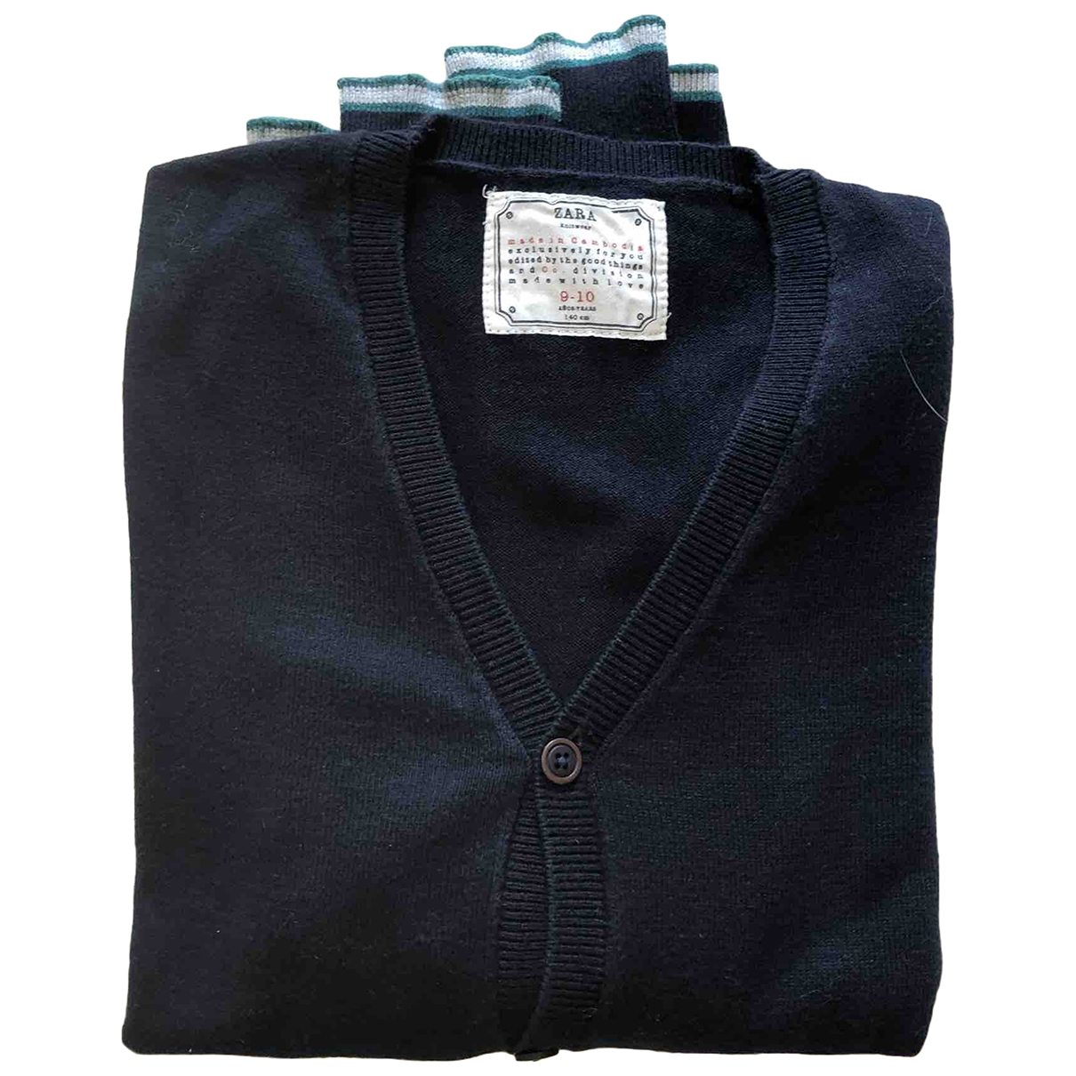 Zara \N Navy Cotton Knitwear for Kids 10 years - until 56 inches UK