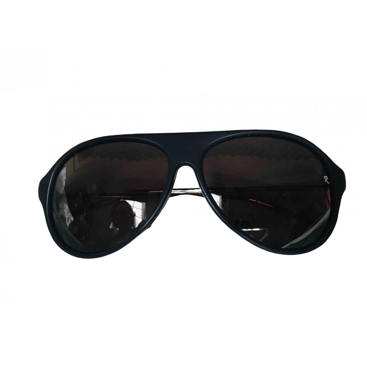 Raf Simons \N Sonnenbrillen in  Schwarz Kunststoff