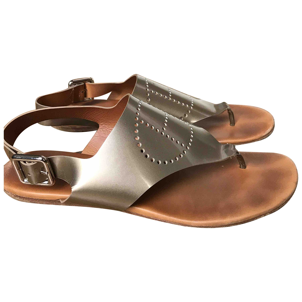 Sandalias de Charol Hermes