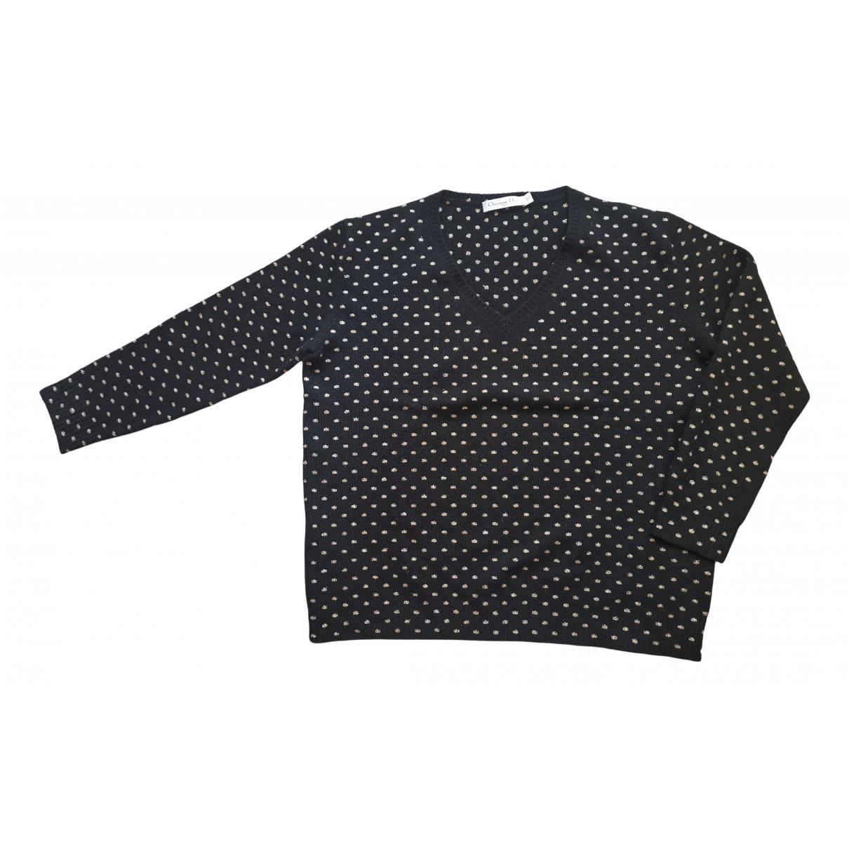 Dior \N Pullover in  Schwarz Kaschmir