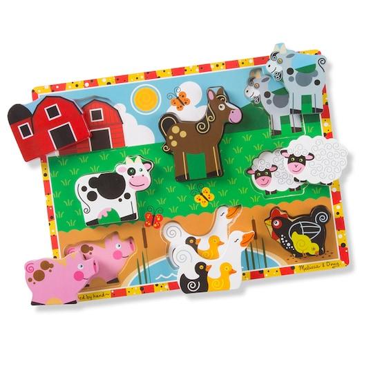 Melissa & Doug Farm Animals Chunky Puzzle | Michaels®