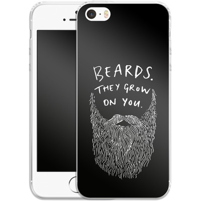 Apple iPhone 5s Silikon Handyhuelle - Grow On You von caseable Designs