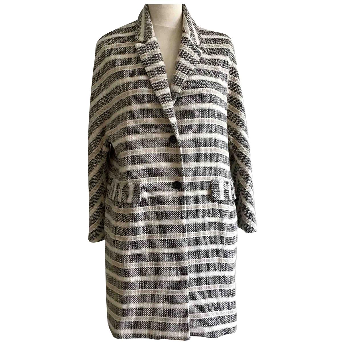 Zara - Manteau   pour femme en lin - beige