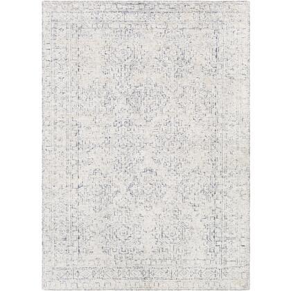Bella LLB-2300 2' x 3' Rectangle Traditional Rug in Denim