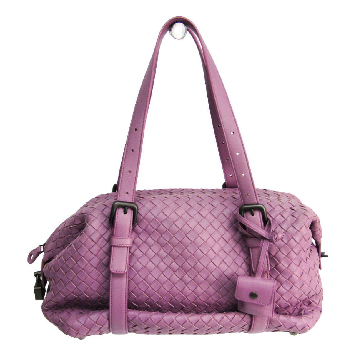 Bottega Veneta Veneta Purple Leather handbag for Women N