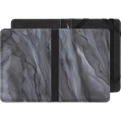 Amazon Fire HD 6 eBook Reader Huelle - Black Watercolour Marble von Becky Starsmore