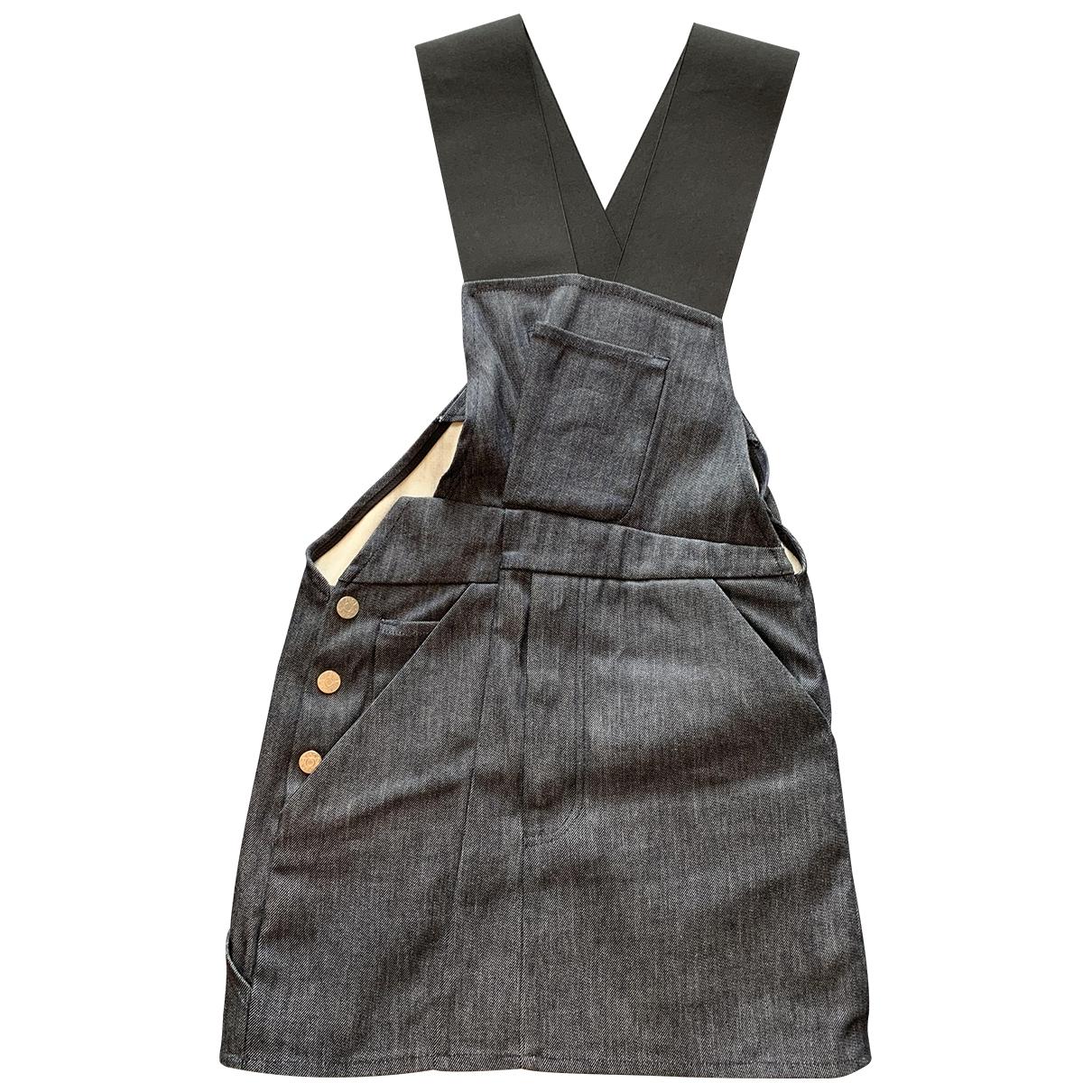 Acne Studios \N Navy Denim - Jeans dress for Women 34 FR