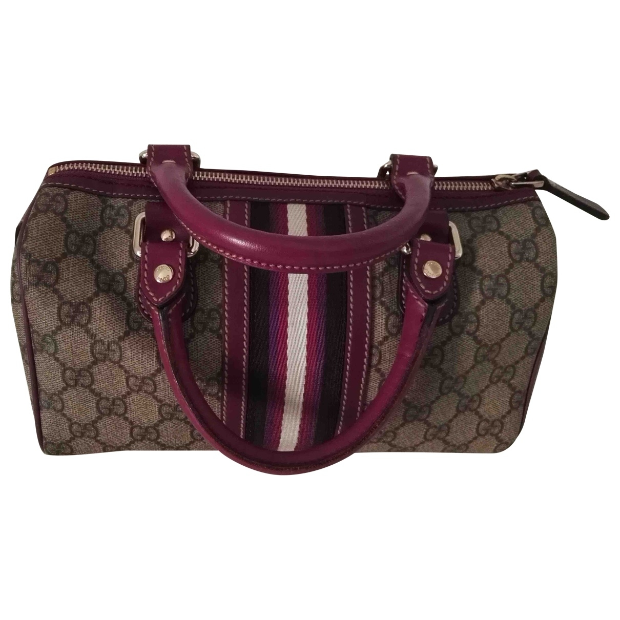 Bolso boston de Cuero Gucci