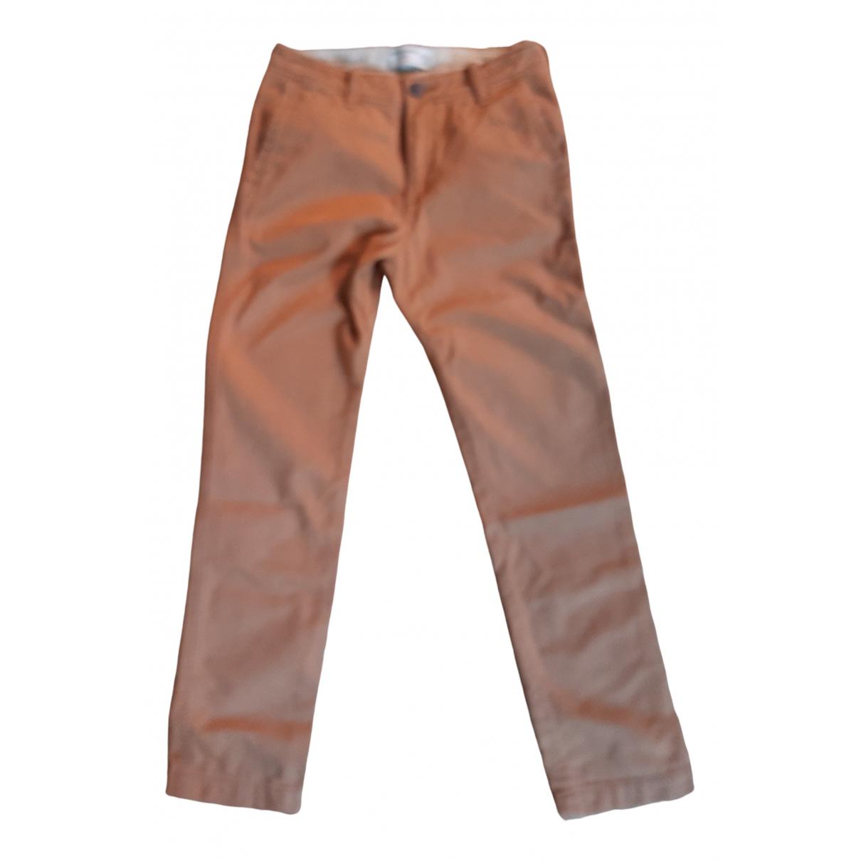 Abercrombie & Fitch - Pantalon   pour enfant en coton - camel