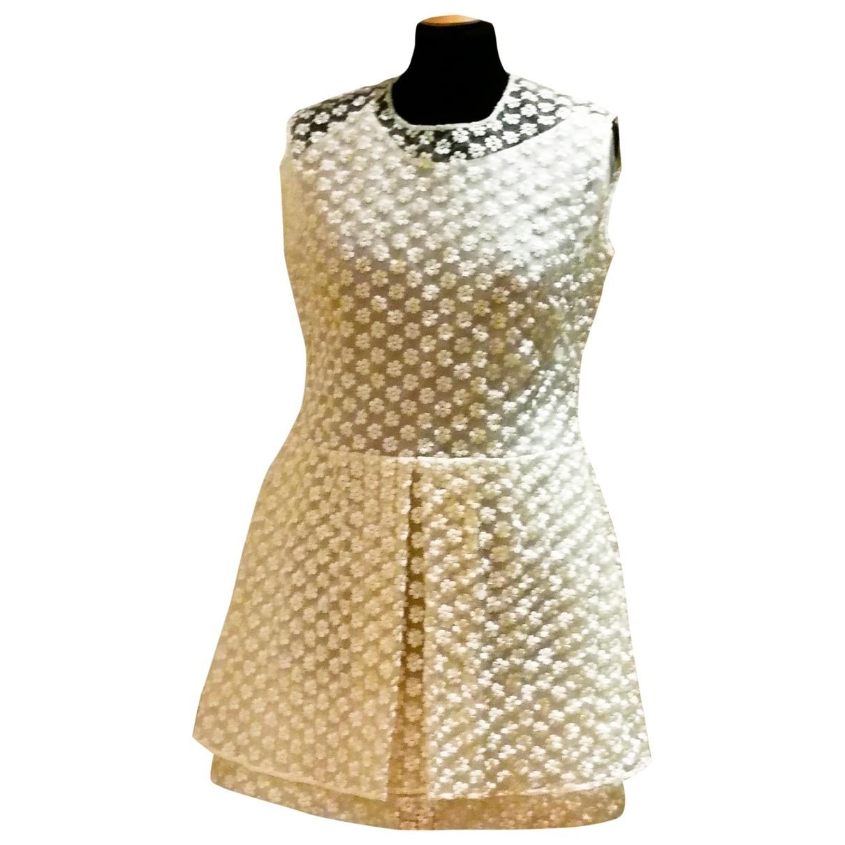 Mini vestido de Seda Simone Rocha