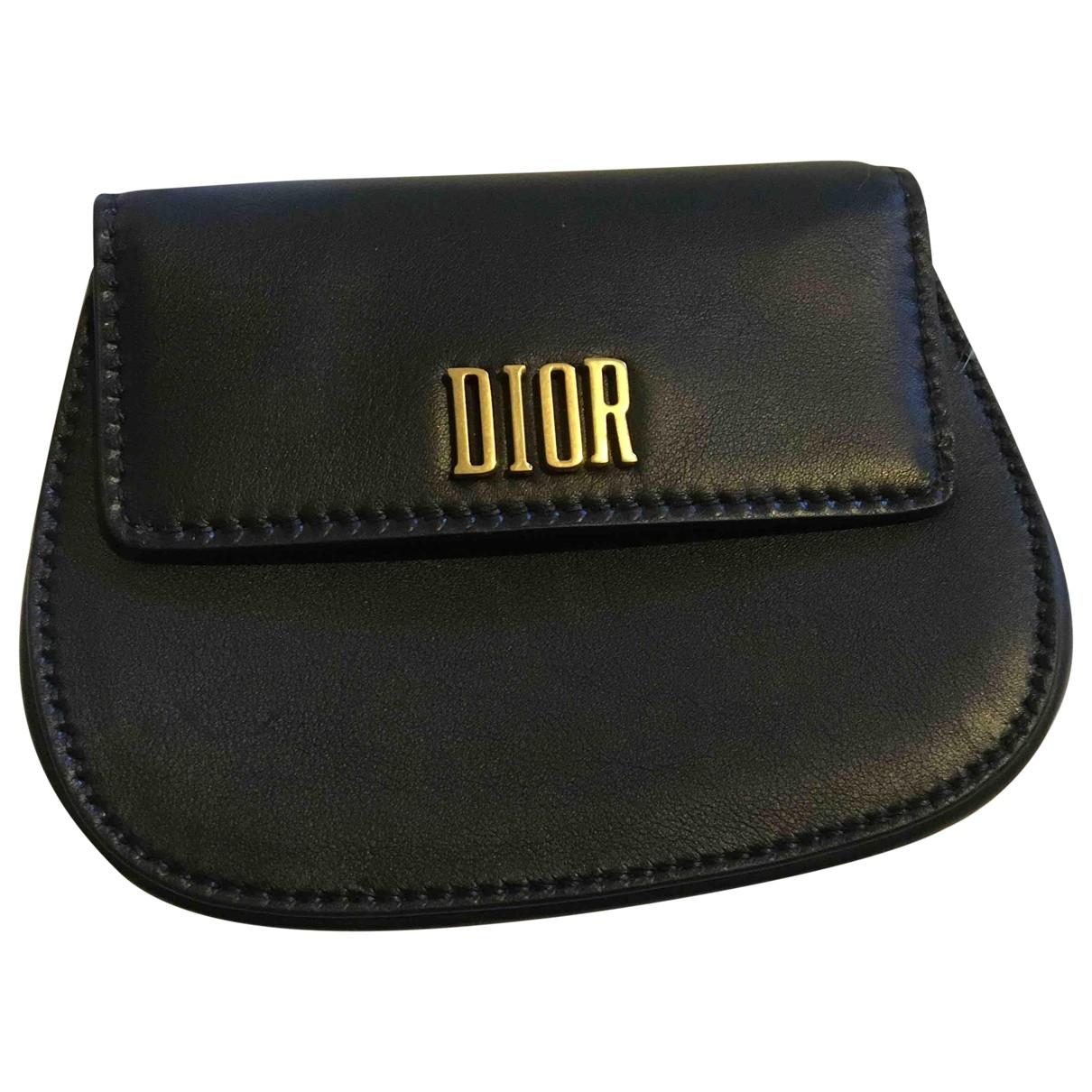 Dior - Sac a main D-Fence pour femme en cuir - noir