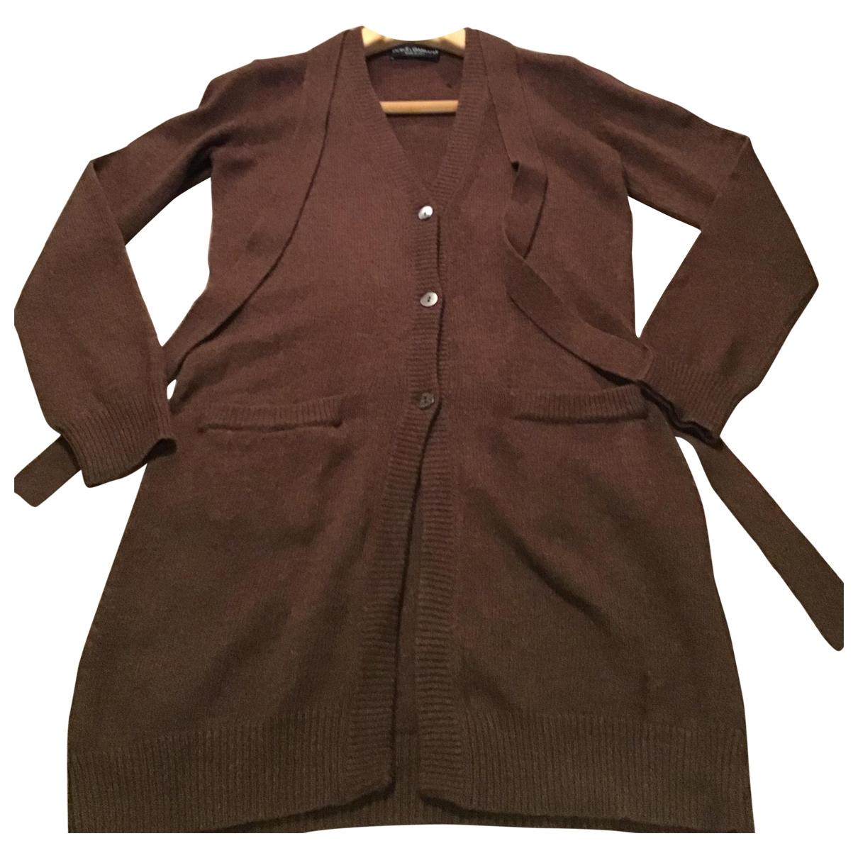Dolce & Gabbana - Pull   pour femme en laine - marron