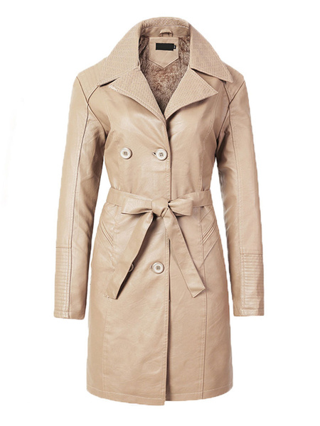 Milanoo Women\\s Jackets Turndown Collar Front Button Casual Buttons Street Wear Black Jacket For Women