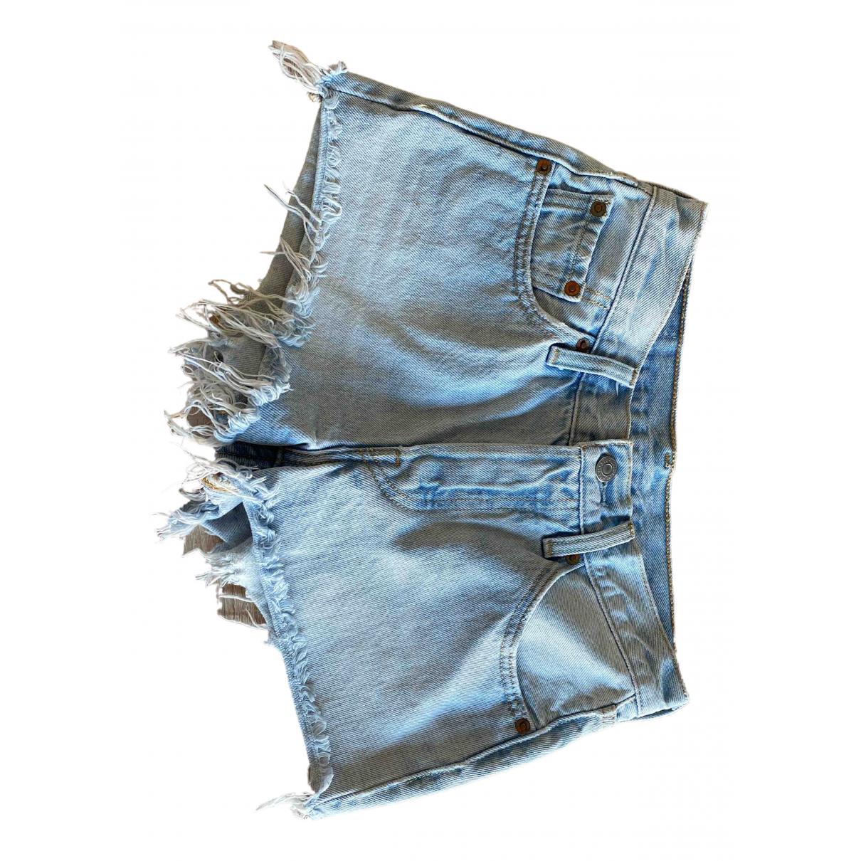 Levi's \N Blue Denim - Jeans Shorts for Women One Size FR