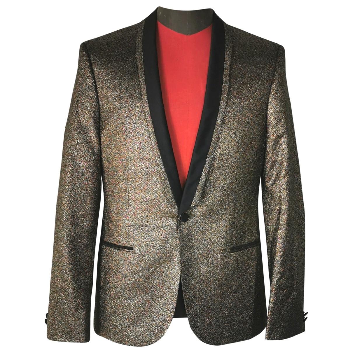 Hugo Boss \N Gold Wool jacket  for Men 46 IT