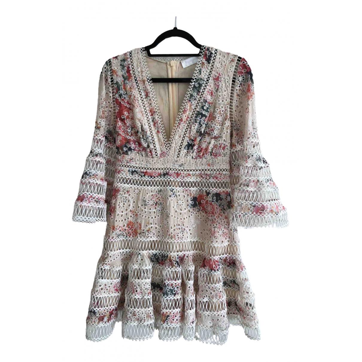 Zimmermann - Robe   pour femme en coton - multicolore