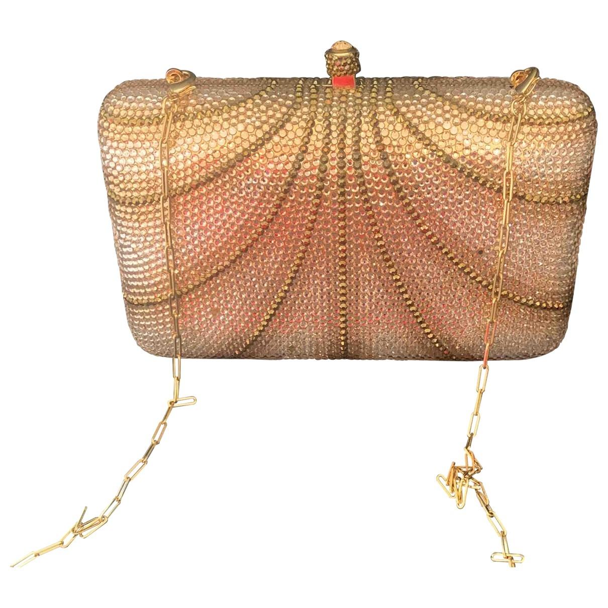 Azzaro \N Gold Metal Clutch bag for Women \N