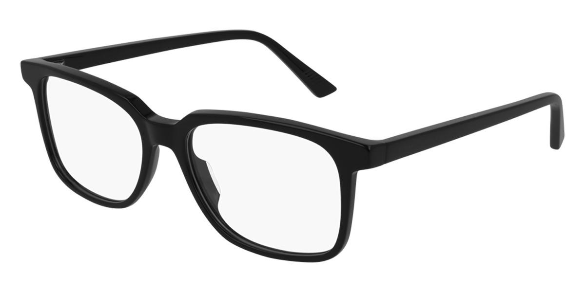Bottega Veneta BV1024O 008 Men's Glasses Black Size 55 - Free Lenses - HSA/FSA Insurance - Blue Light Block Available