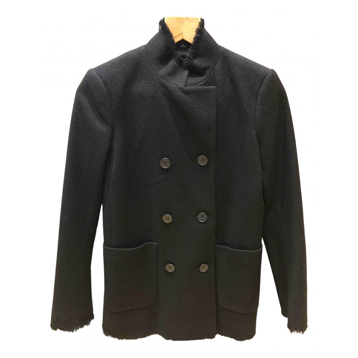 Theory \N Black Wool coat for Women S International