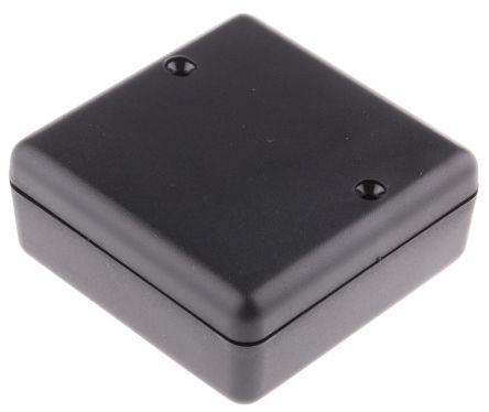 Hammond 1593 Black ABS Project Box, 66 x 66 x 28mm