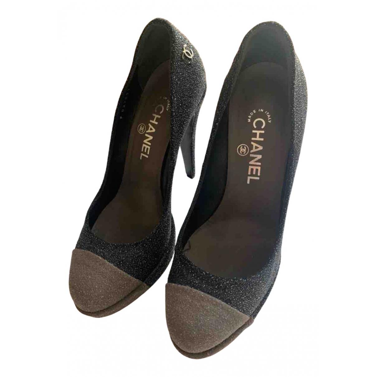 Chanel N Multicolour Cloth Heels for Women 38 EU