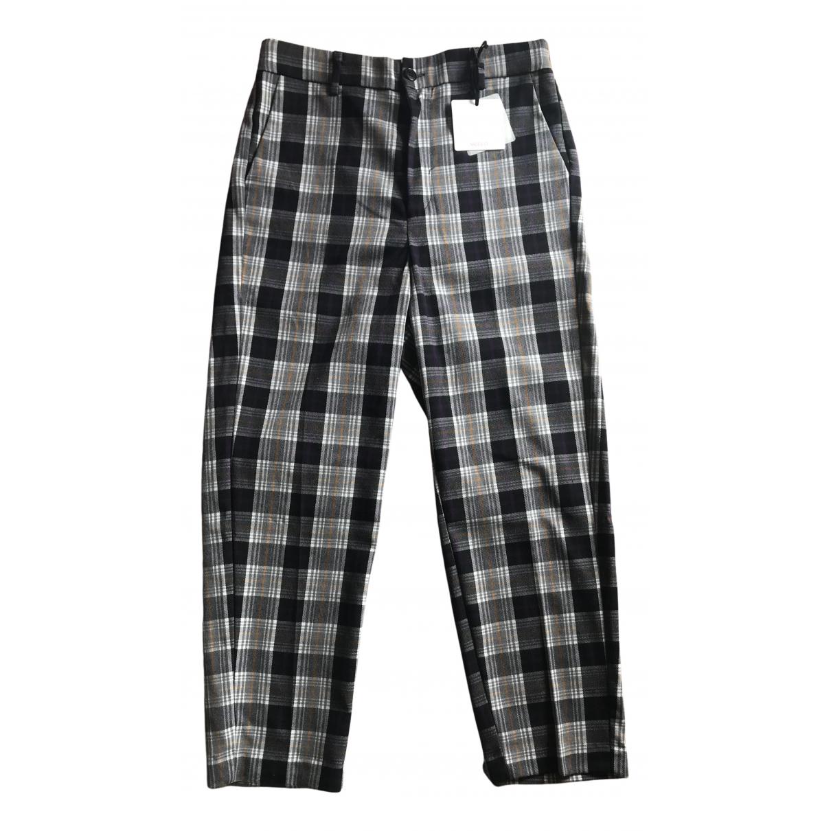 Vicolo N Purple Trousers for Women M International
