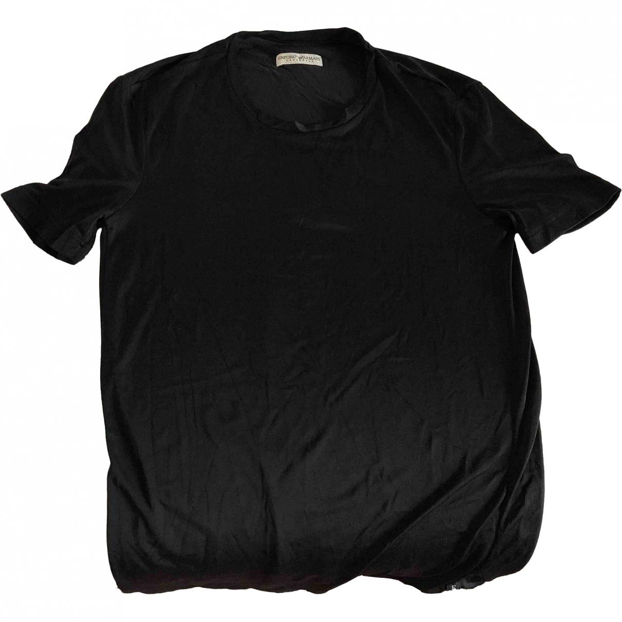 Emporio Armani \N Black T-shirts for Men S International