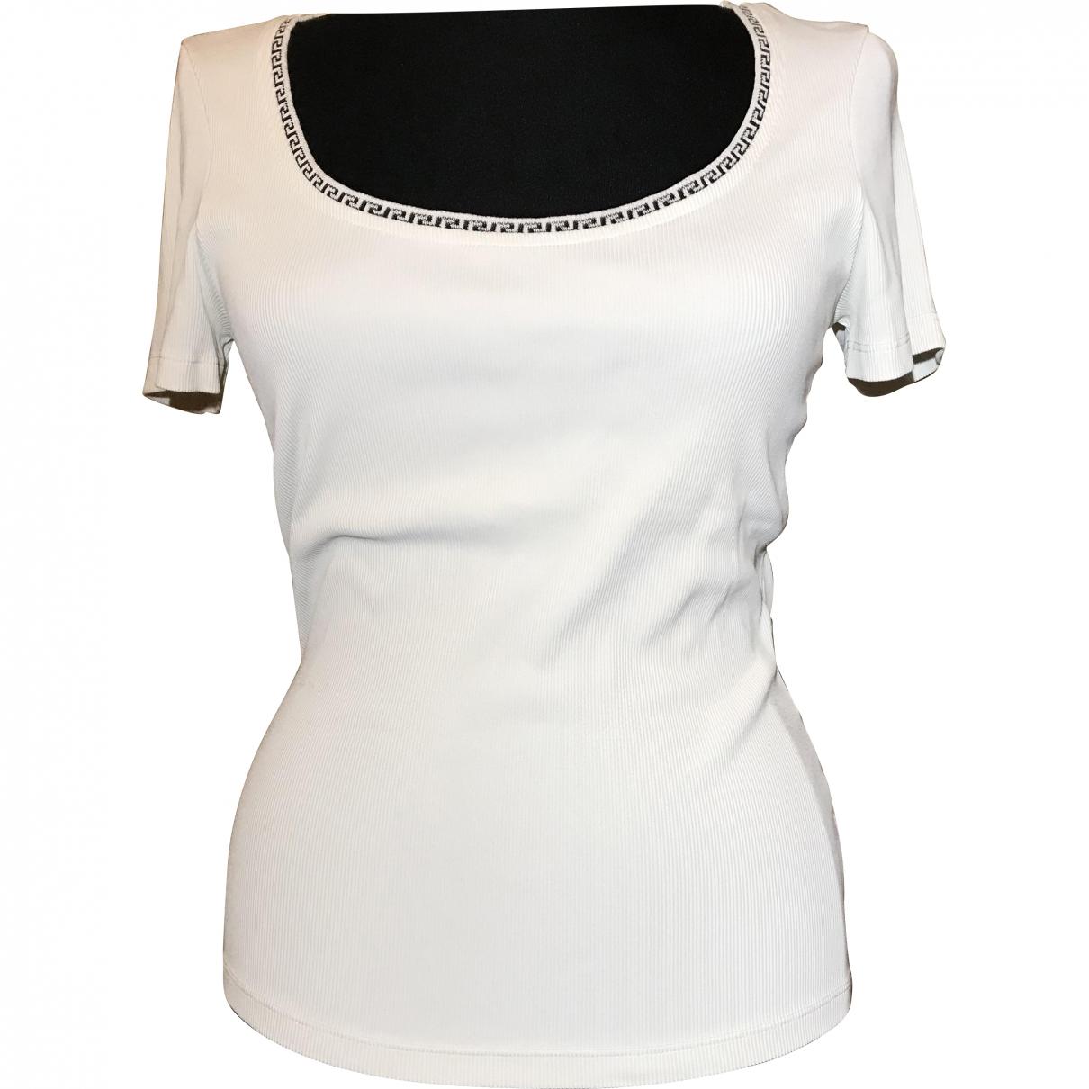 Versace Jean - Top   pour femme - blanc