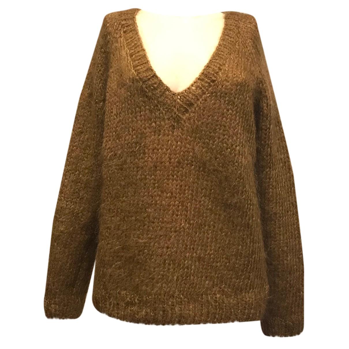 Mes Demoiselles ... - Pull   pour femme en laine - marron