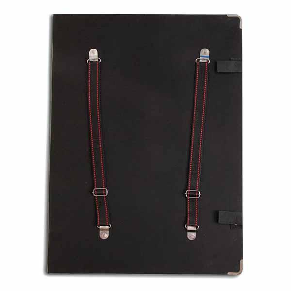 4K Black Shoulder Portable Waterproof Picture File Folder Outdoor Sketch Picture File Folder
