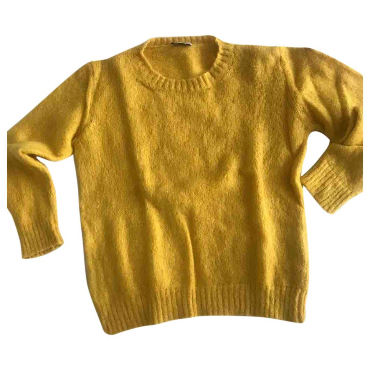 Moncler \N Yellow Wool Knitwear for Women M International