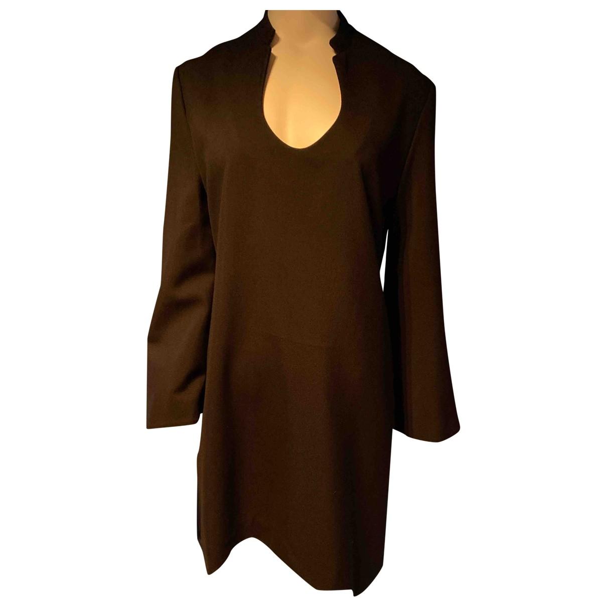 Yves Saint Laurent - Robe   pour femme en laine - noir