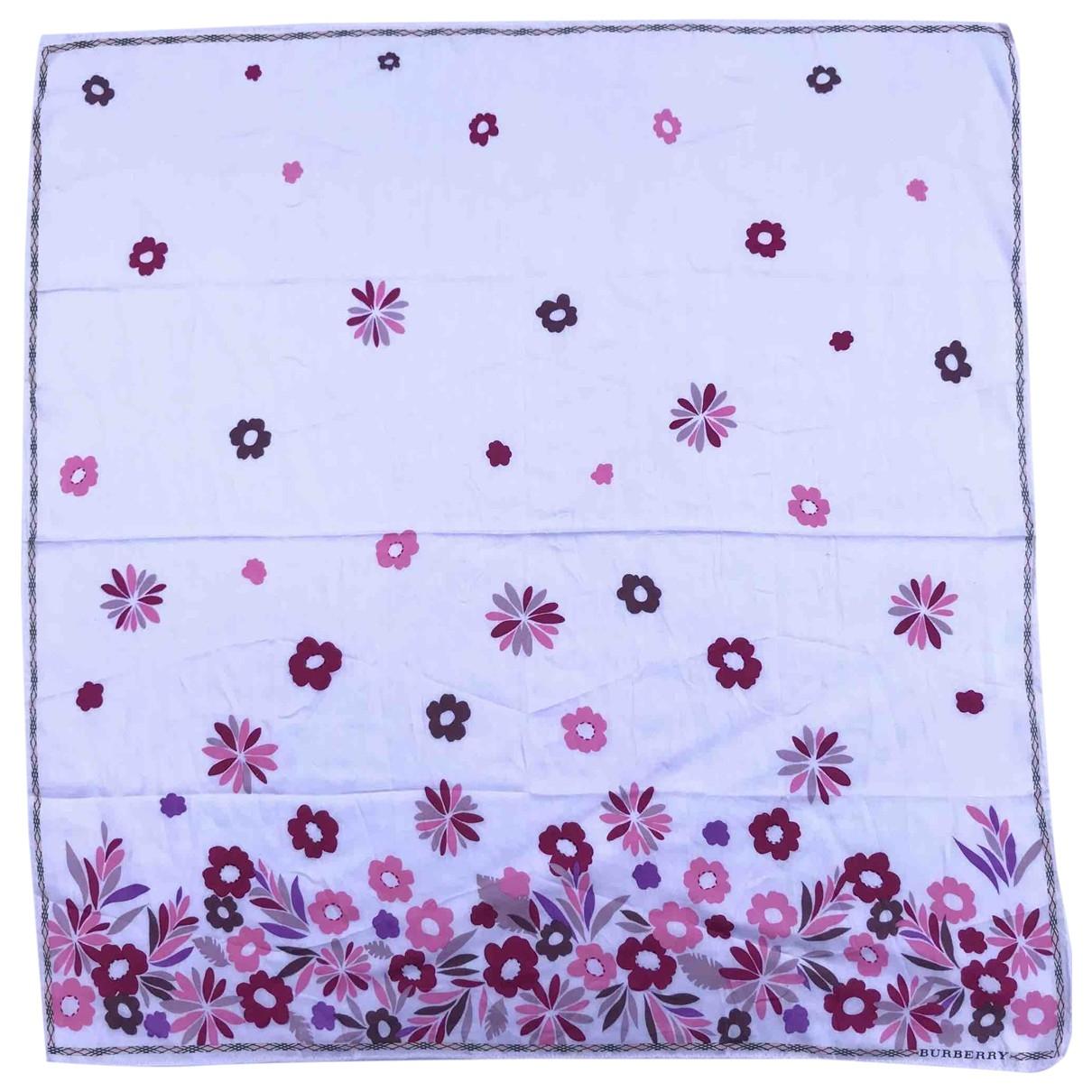 Burberry \N Silk handkerchief for Women \N