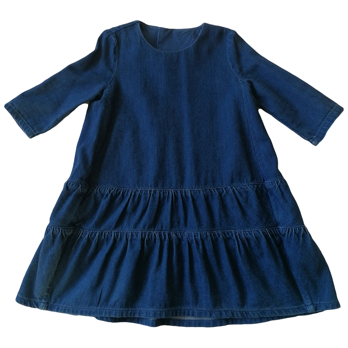 Cos \N Blue Cotton dress for Kids 4 years - up to 102cm FR