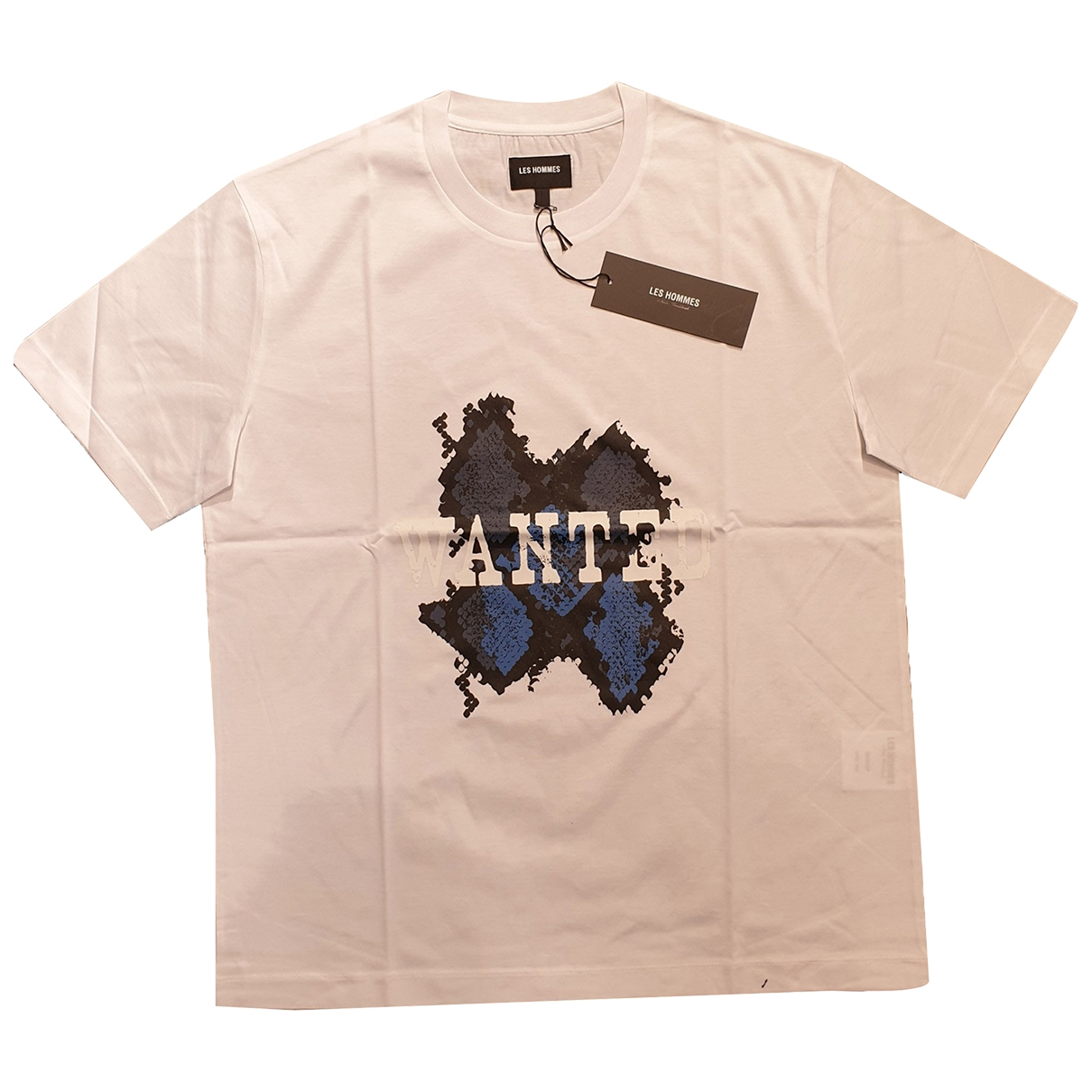 Les Hommes \N White Cotton T-shirts for Men L International